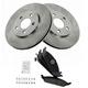 1ABFS00390-Brake Pad & Rotor Kit Front