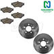 1ABFS00397-Brake Kit Front  Nakamoto MD678  54014