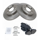 1ABFS00399-Brake Pad & Rotor Kit Rear