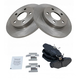 1ABFS00398-Brake Pad & Rotor Kit Rear