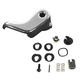 1ADHI00389-Locking Vent Window Handle Kit Driver Side Chrome