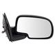 1AMRE01913-Mirror Passenger Side Gloss Black Cap
