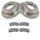 1ABFS00326-Brake Pad & Rotor Kit Rear