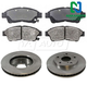 1ABFS00335-Toyota Camry Brake Pad & Rotor Kit Front