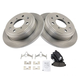 1ABFS00334-Brake Pad & Rotor Kit Rear