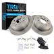 1ABFS00333-Brake Pad & Rotor Kit Rear