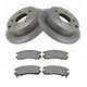 1ABFS00332-Mitsubishi Eclipse Galant Brake Pad & Rotor Kit Rear
