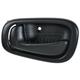 1ADHI00342-1998-02 Chevy Prizm Toyota Corolla Interior Door Handle Driver Side Black