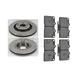 1ABFS00314-Brake Pad & Rotor Kit Front