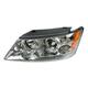 1ALHL02002-2009-10 Hyundai Sonata Headlight Driver Side