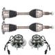 1AAHK00002-Wheel Hub Bearing & Axle Kit Front
