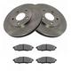 1ABFS00034-Brake Pad & Rotor Kit Front