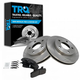 1ABFS00037-Brake Pad & Rotor Kit
