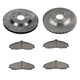 1ABFS00029-1997-04 Chevy Corvette Brake Pad & Rotor Kit
