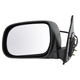 1AMRE01181-2005-11 Toyota Tacoma Mirror Driver Side Black