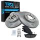 1ABFS00059-Honda Civic Civic Del Sol CRX Brake Pad & Rotor Kit
