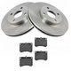 1ABFS00050-Brake Kit Front  Nakamoto MD473  5474
