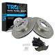 1ABFS00010-Brake Pad & Rotor Kit
