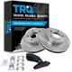 1ABFS00004-Brake Pad & Rotor Kit