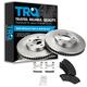 1ABFS00003-Brake Pad & Rotor Kit