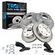 1ABFS00090-Brake Pad & Rotor Kit