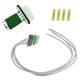 1AESK00020-Blower Motor Resistor with Plug & Pigtail  Dorman 973-434