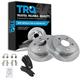 1ABFS00076-Brake Pad & Rotor Kit