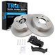 1ABFS00078-Brake Pad & Rotor Kit