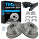 1ABFS00077-Brake Pad & Rotor Kit Rear