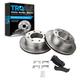 1ABFS00142-Brake Pad & Rotor Kit