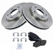 1ABFS00129-Hyundai Elantra Brake Kit  Nakamoto MD924  31453
