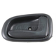 1ADHI00081-1993-97 Geo Prizm Toyota Corolla Interior Door Handle Dark Gray