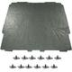 1ABHI00076-1967-69 Pontiac Firebird Hood Insulation with Clips
