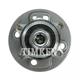 TKSHR00075-Mini Cooper Wheel Bearing & Hub Assembly Rear Timken HA590161