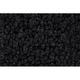ZAICK20428-1964-66 Plymouth Barracuda Complete Carpet 01-Black  Auto Custom Carpets 1111-230-1219000000