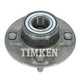 TKSHR00097-Nissan Altima Axxess Stanza Wheel Bearing & Hub Assembly Rear Timken 512016