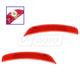 1ALPP01036-2012-17 Fiat 500 Side Marker Light Rear Pair