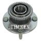 TKSHR00186-Wheel Bearing & Hub Assembly Rear Timken 512161