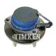 TKSHR00130-2005 Wheel Bearing & Hub Assembly Rear
