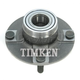 TKSHR00124-1989-94 Suzuki Swift Wheel Bearing & Hub Assembly  Timken 512182