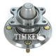 TKSHR00101-Wheel Bearing & Hub Assembly Rear Timken 512191