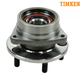 TKSHF00089-Jeep Wheel Bearing & Hub Assembly Front Timken 513107