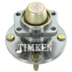 TKSHR00214-Wheel Bearing & Hub Assembly Rear Timken HA590113