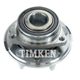 TKSHR00203-2010-15 Chevy Camaro Wheel Bearing & Hub Assembly Rear Timken HA590348