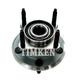 TKSHR00247-Jeep Wheel Bearing & Hub Assembly Rear  Timken HA590141