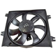1AACF00066-Hyundai Accent A/C Condenser Cooling Fan Assembly