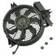 1AACF00077-2001-06 Hyundai Santa Fe A/C Condenser Cooling Fan Assembly