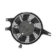 1AACF00059-1988-92 Mazda 626 MX-6 A/C Condenser Cooling Fan Assembly