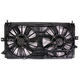 1AACF00098-Buick Park Avenue Radiator Dual Cooling Fan Assembly
