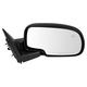 1AMRE01118-Mirror Passenger Side Gloss Black Cap
